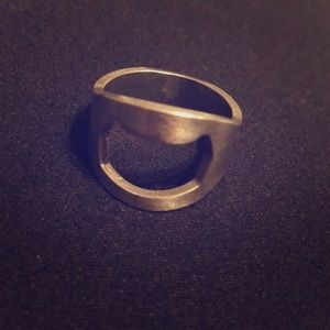 Jewelry - Beer opener ring, probably size 10